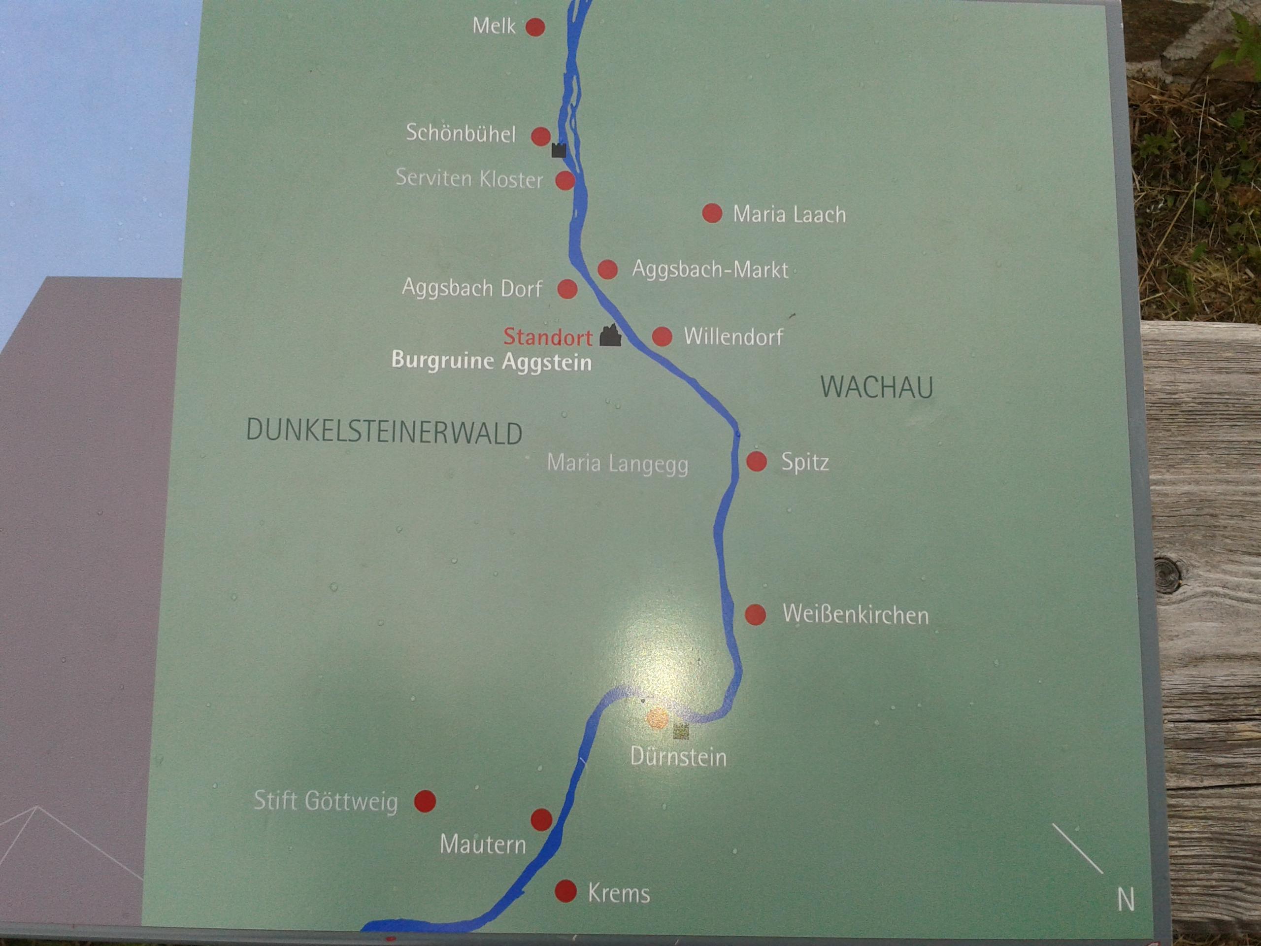 map wachau