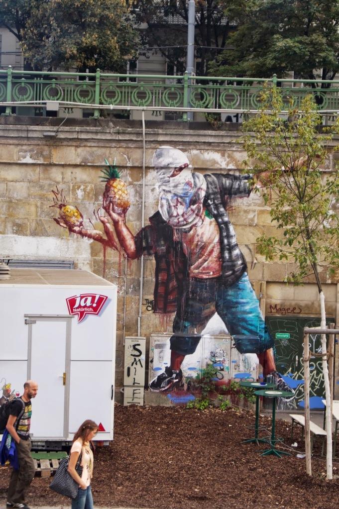 Pineapple Street Art