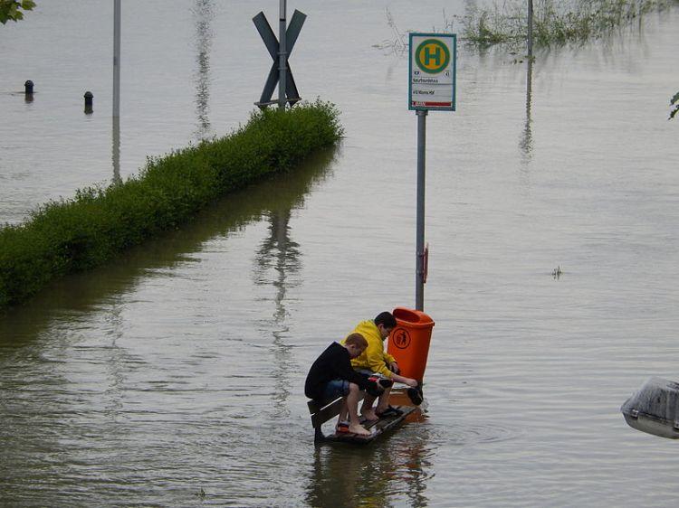 Boys Hochwasser