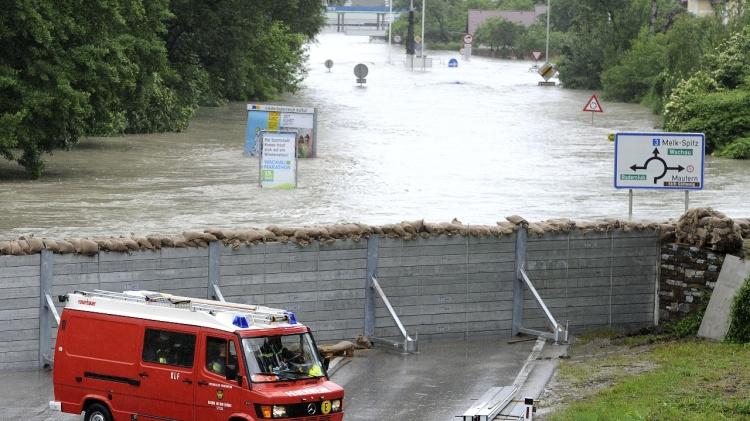 Hochwasser Krems