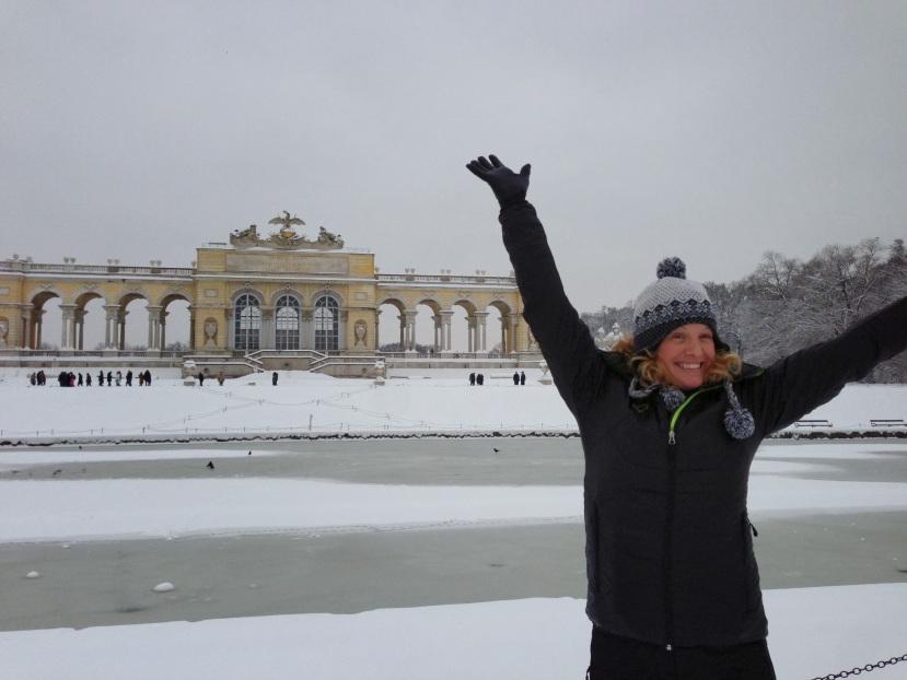 Snowy Schönbrunn