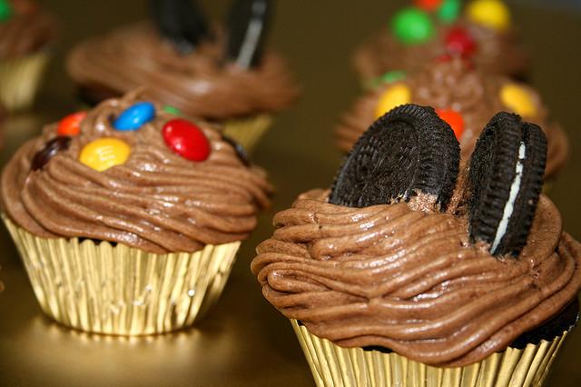 Choccie Cupcakes